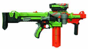 Pistolet Nerf Vortex Nitron automatique (Fonctionne avec des piles)