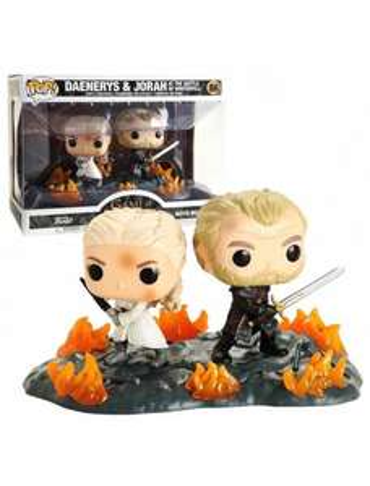 Figurine Funko Pop! Game Of Thrones - Daenerys et Jorah
