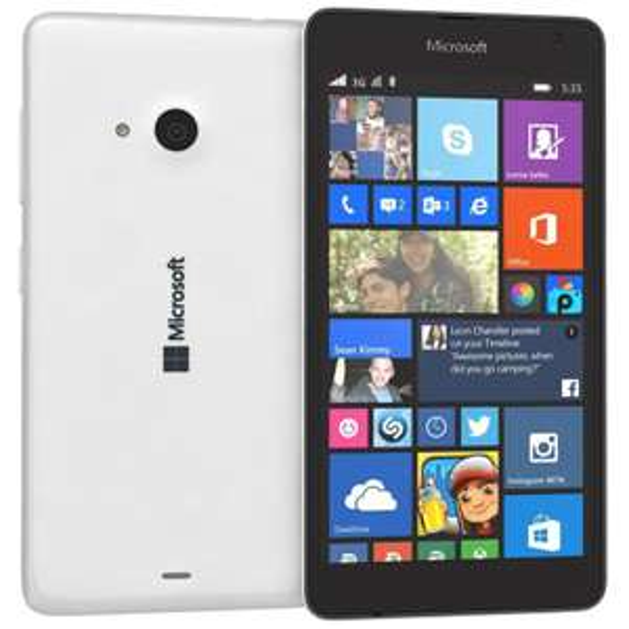 Smartphone 5'' Microsoft Lumia 535 Blanc