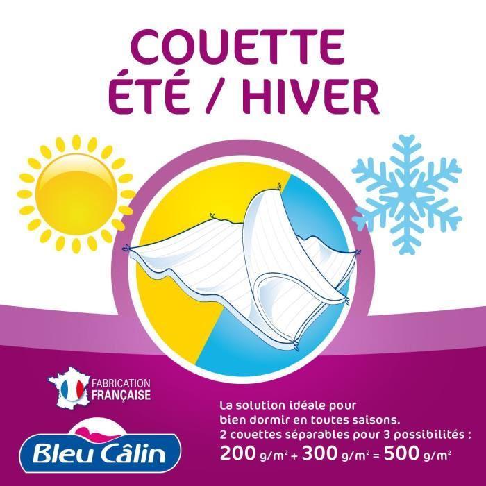 Couette Bleu Calin 4 saisons en 240x260
