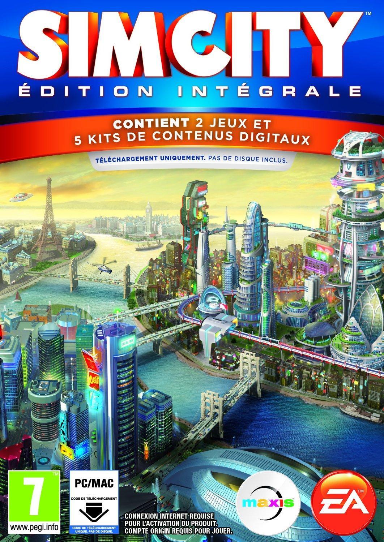 SimCity Complete Edition sur PC et MAC (dématerialisé)