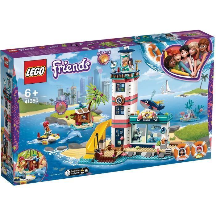 Sélection de Lego en promotion - Jeu de construction Lego Friends (41380) : Le Centre De Sauvetage Du Phare