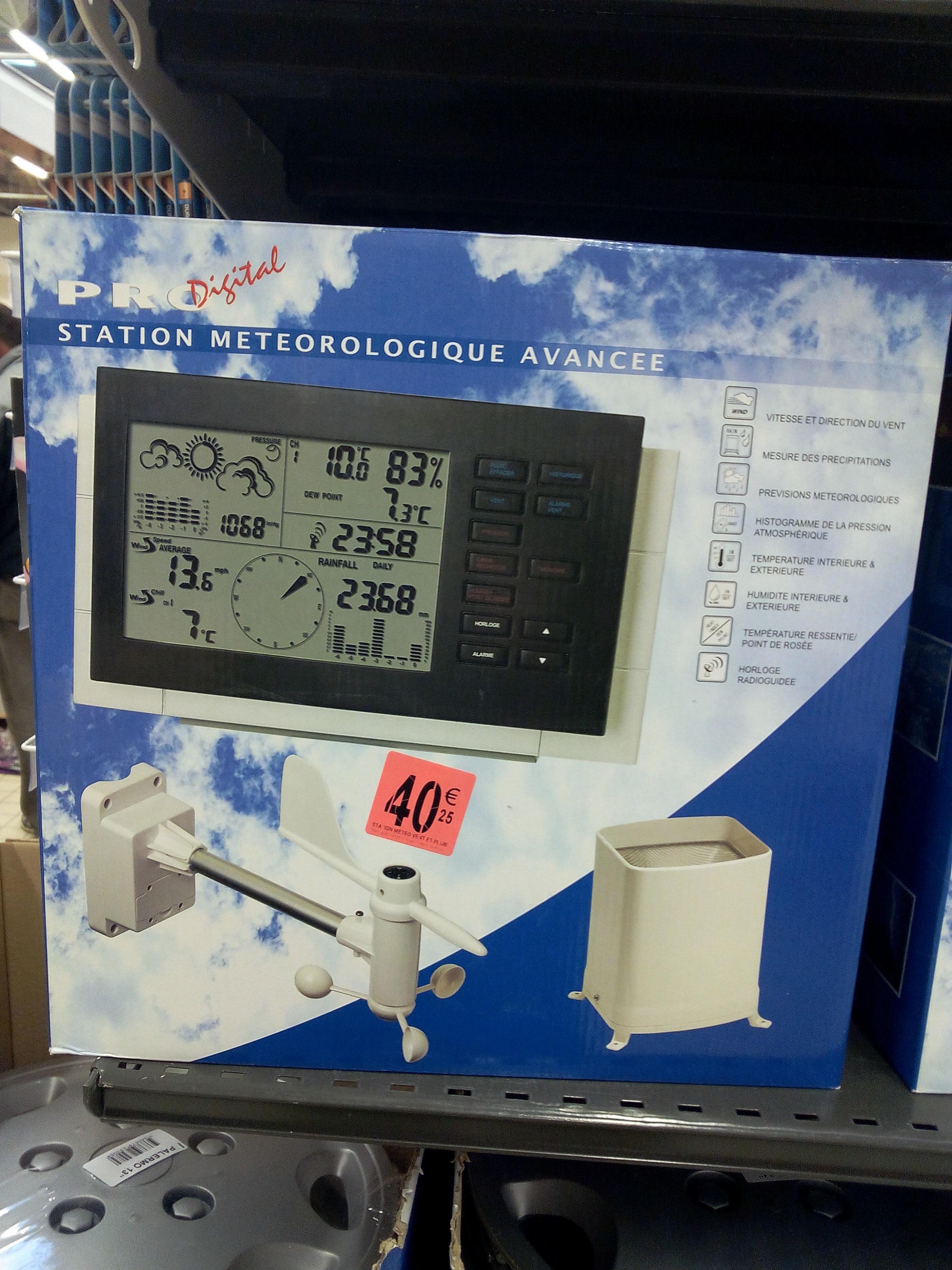 Station météo Pro Digital MF-053