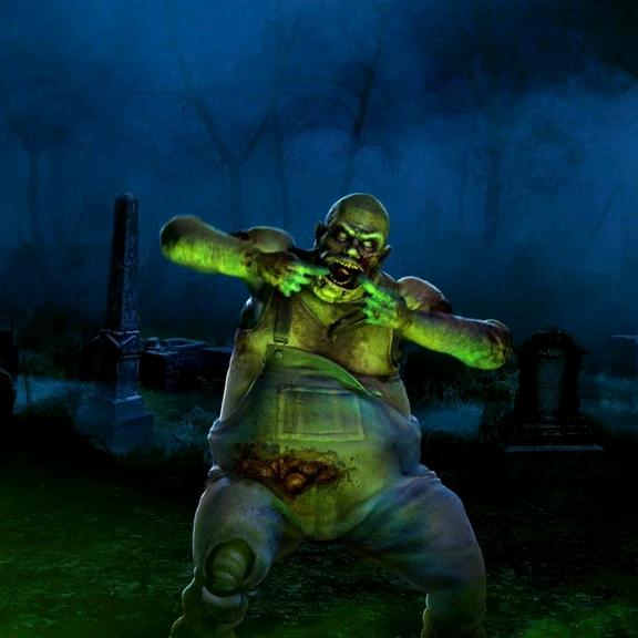 Décoration numérique AtmosFX Silly Zombie Scares gratuites pour Halloween (Dématérialisés - atmosfx.com)