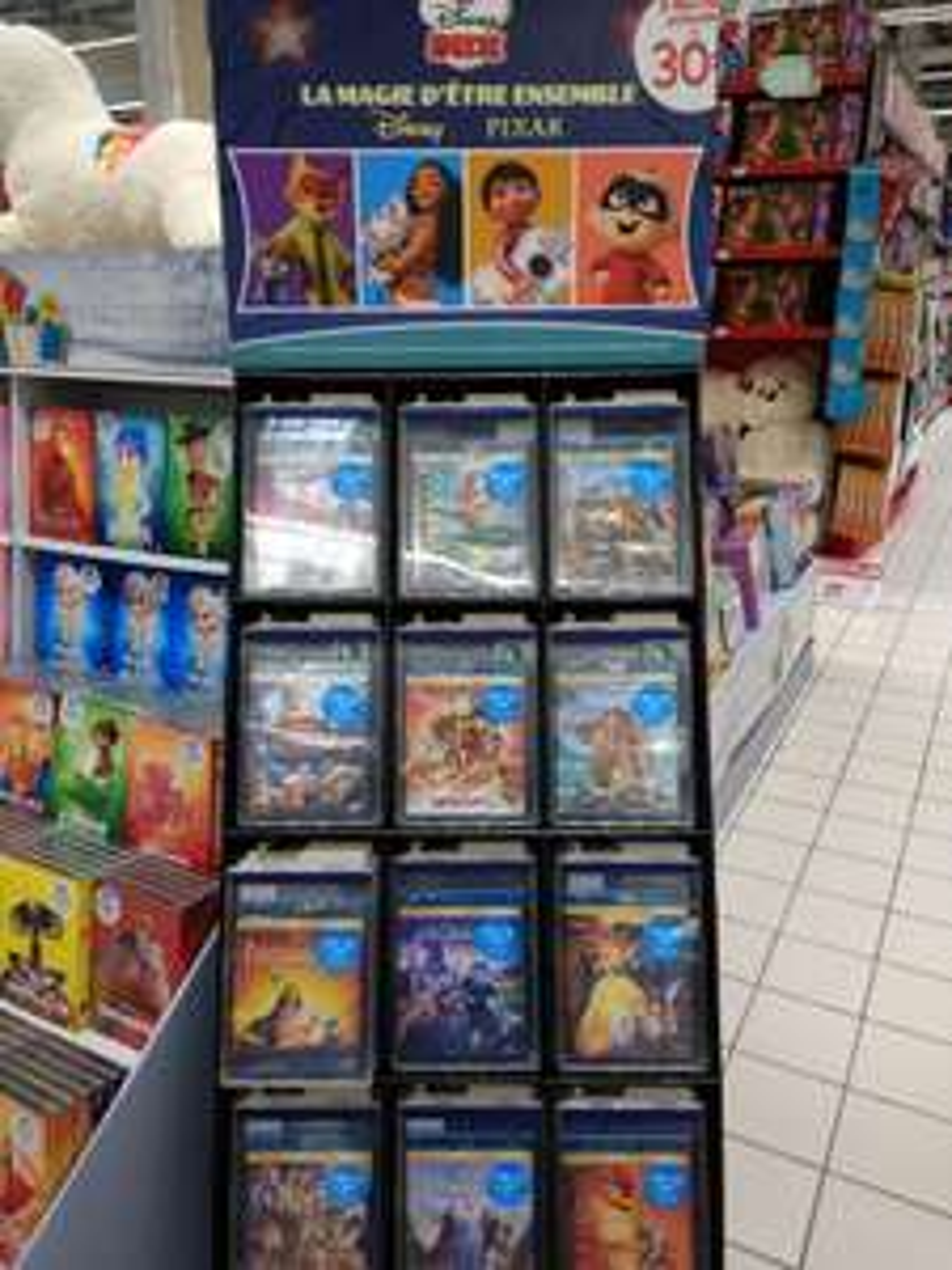 3 Blu-ray Disney au choix parmi une sélection pour 30€