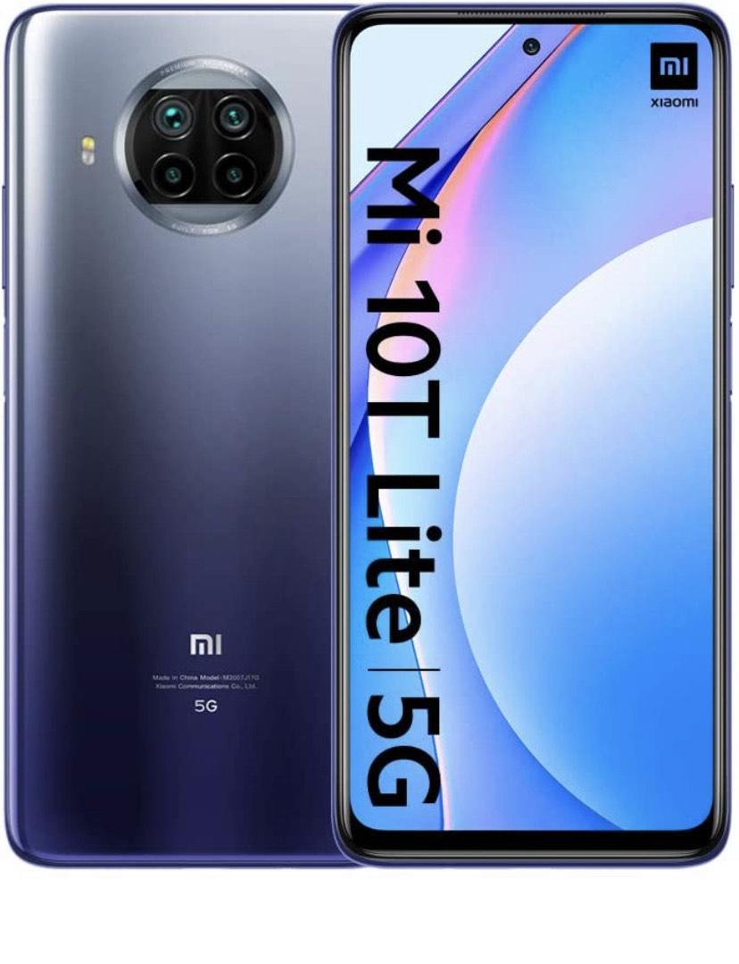 "Smartphone 6,67"" Xiaomi Mi 10T Lite 5G - 6 Go RAM, 64 Go"