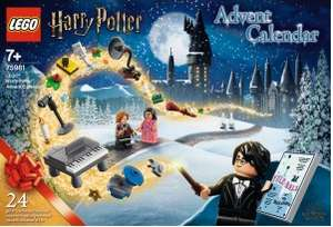 Sélection de calendriers de l'Avent Lego - Ex : Harry Potter (Via 3.98€ sur la carte)