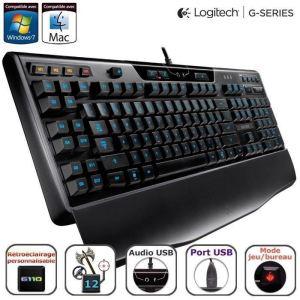 Clavier Gaming rétro-éclairé Logitech G110