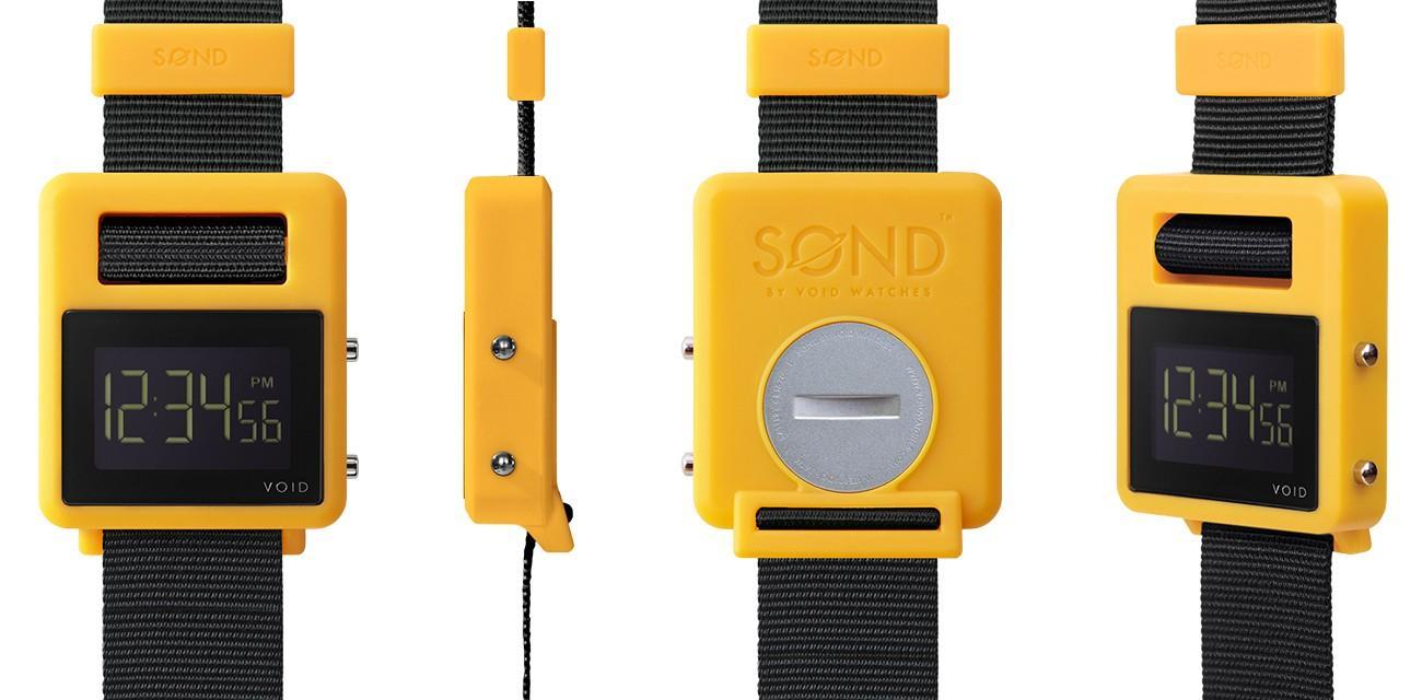 Montre Void Watches SOND-YGR - Plusieurs coloris