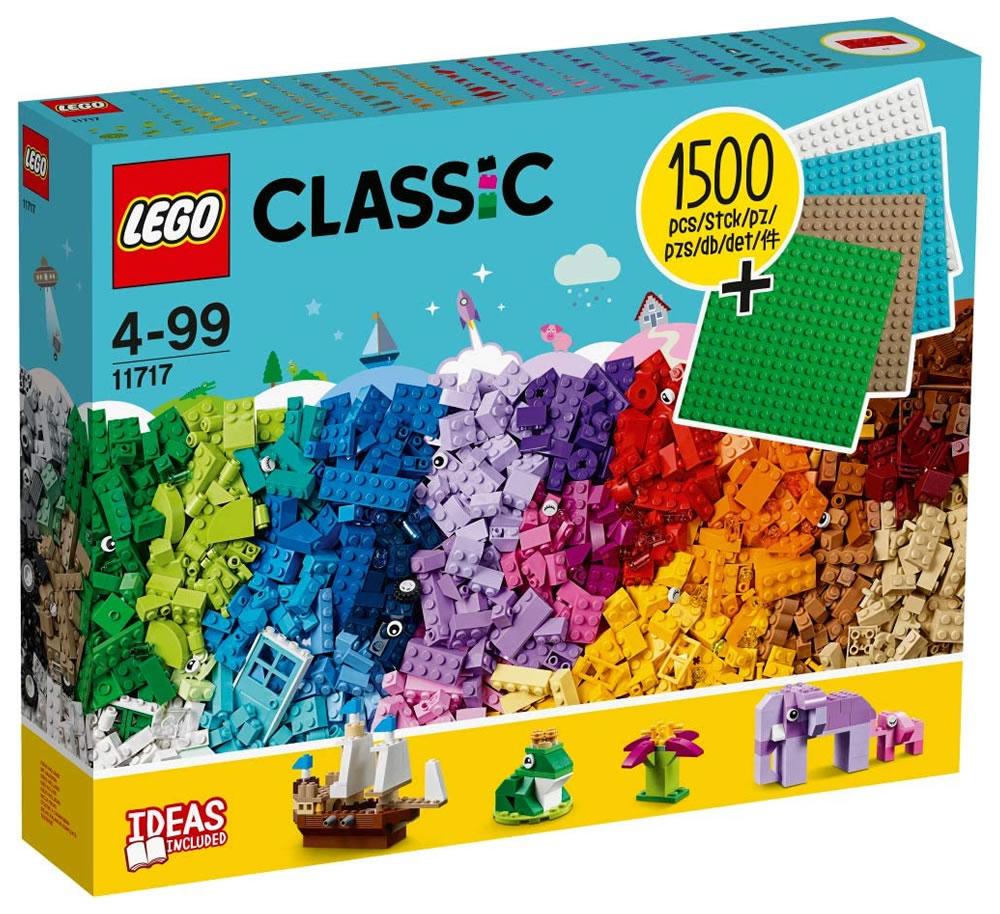 Lego Classic - Des briques et des plaques à gogo (11717) - 1500 pièces