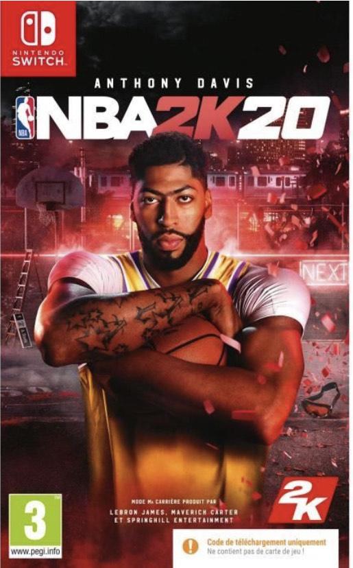 NBA 2K20 sur Nintendo Switch (Code de téléchargement)
