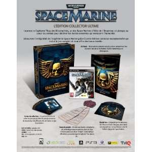 Warhammer 40 000 : Space marine - édition collector ultime  ps3