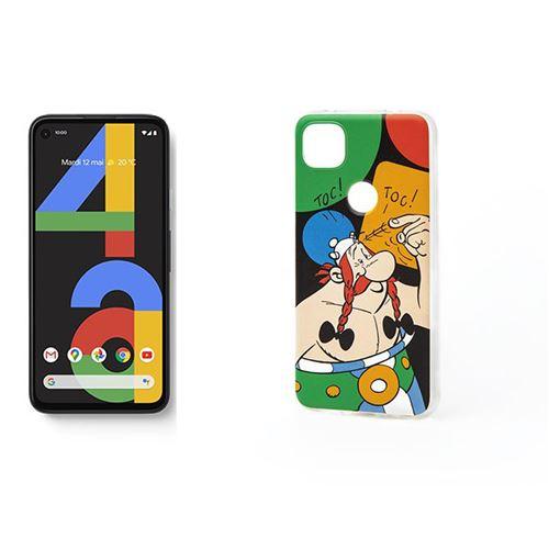 """Smartphone 5.81"""" Google Pixel 4a - 128Go + Coque Astérix"""