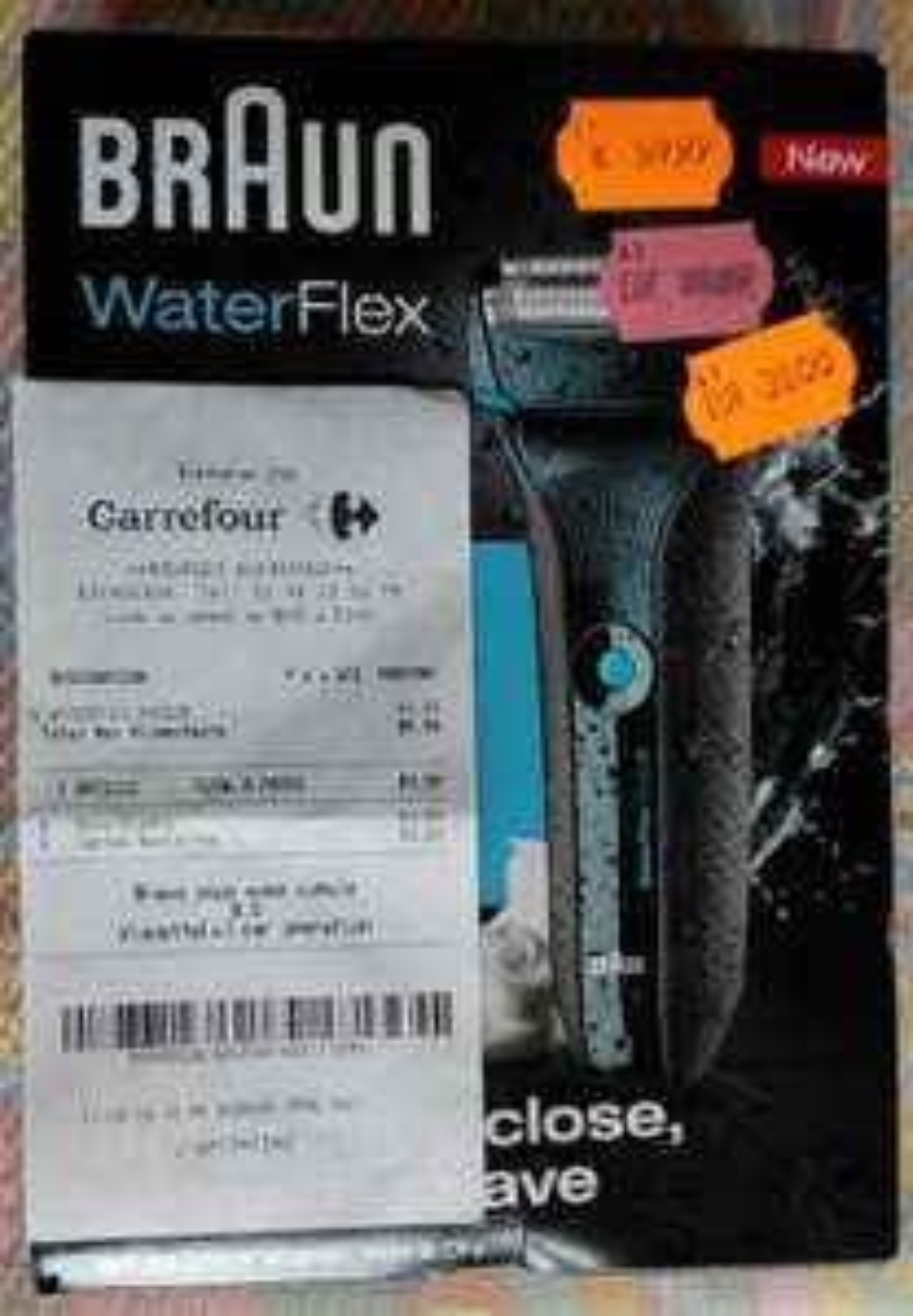 Rasoir électrique Braun WaterFlex WF2S