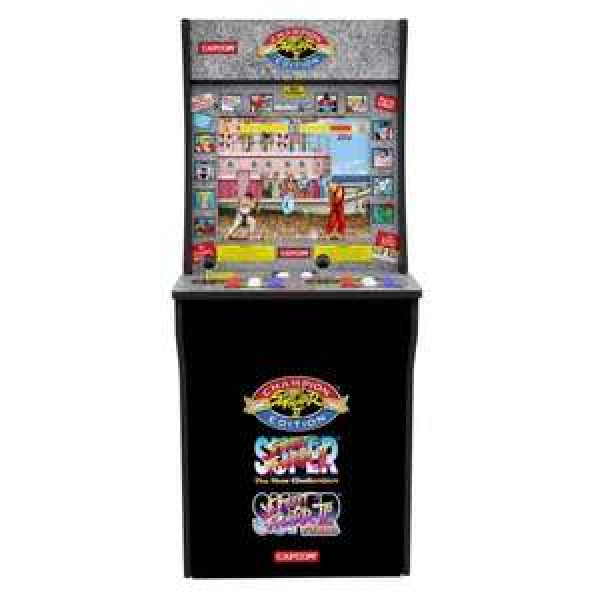 Borne d'arcade Arcade1Up Capcom Street Fighter II Champion Edition + rehausseur Arcade1Up