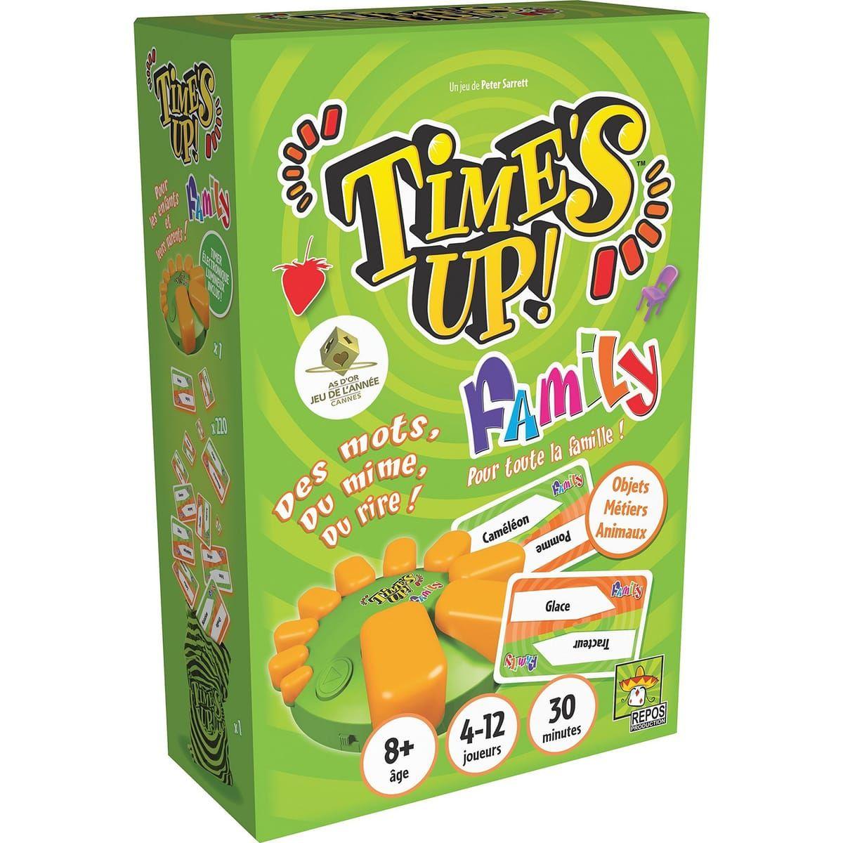 Jeu de société Asmodee - Time's Up Family (Via 4€ sur la carte)
