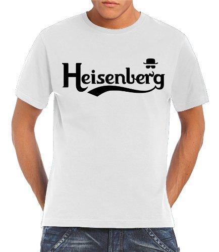 T shirt Touchlines Heisenberg Blanc (Taille L)