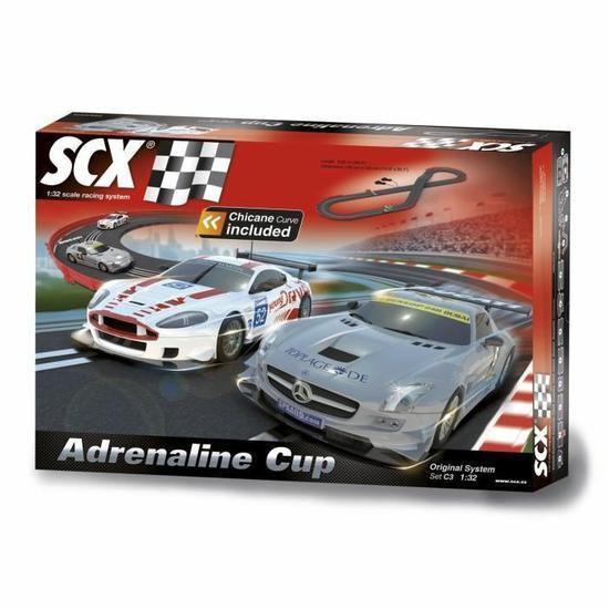 Circuit original C3 SCX - Adrénaline Cup 1/32