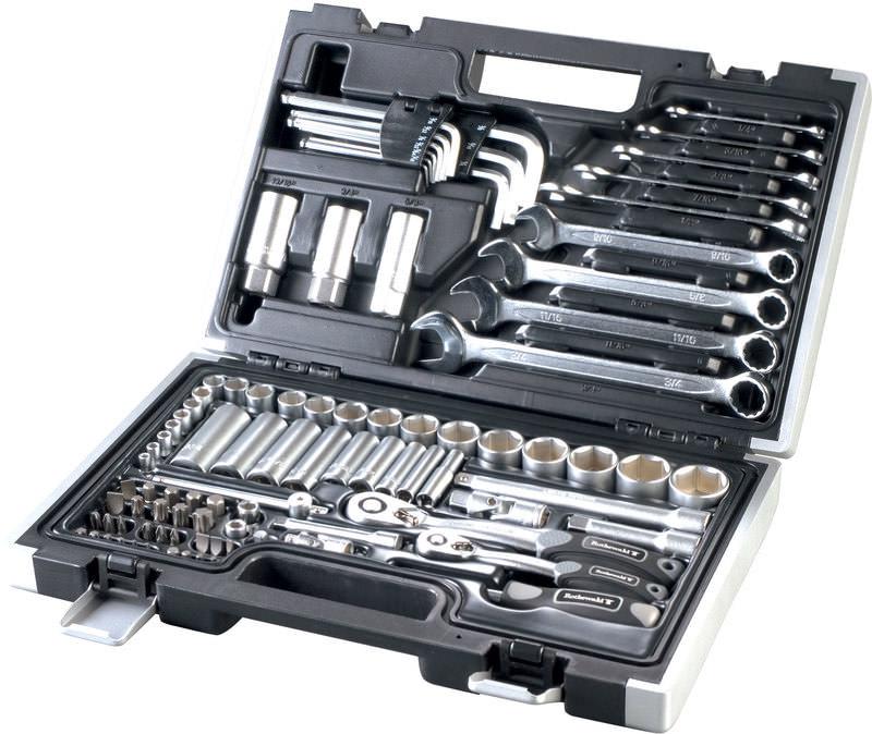 Jeu d'outils en pouces Rothewald - 92 pièces