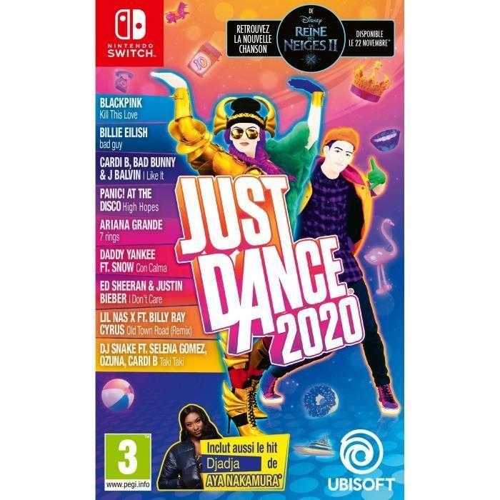 Jeu Just Dance 2020 sur Nintendo Switch