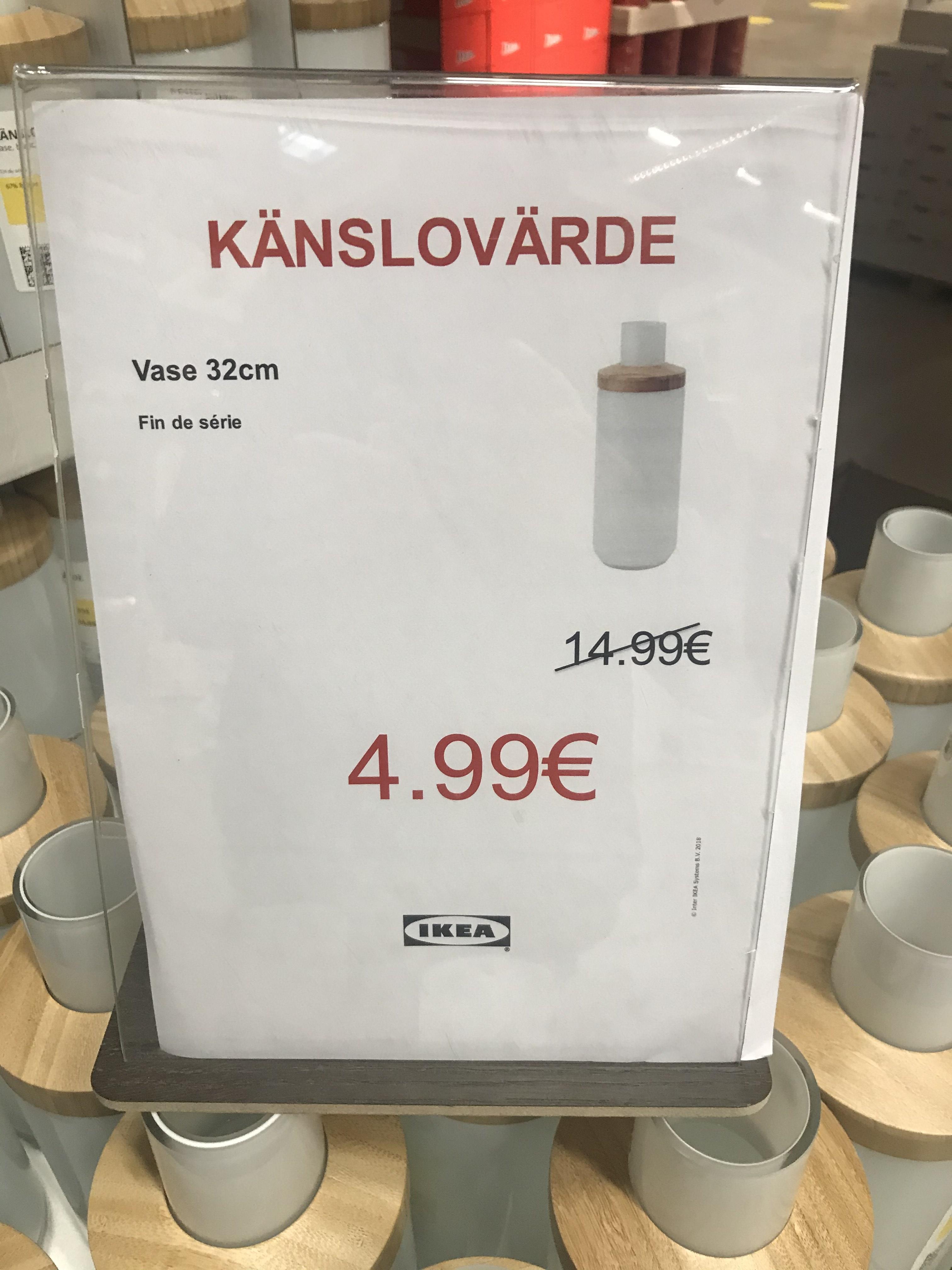 Vase Känslovärde - Ikea Tourville la rivière (76)