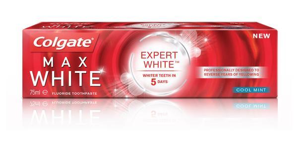 [Carte Monoprix] 2 tubes de dentifrice Colgate Max White Expert White 75ml (BDR de 2€)