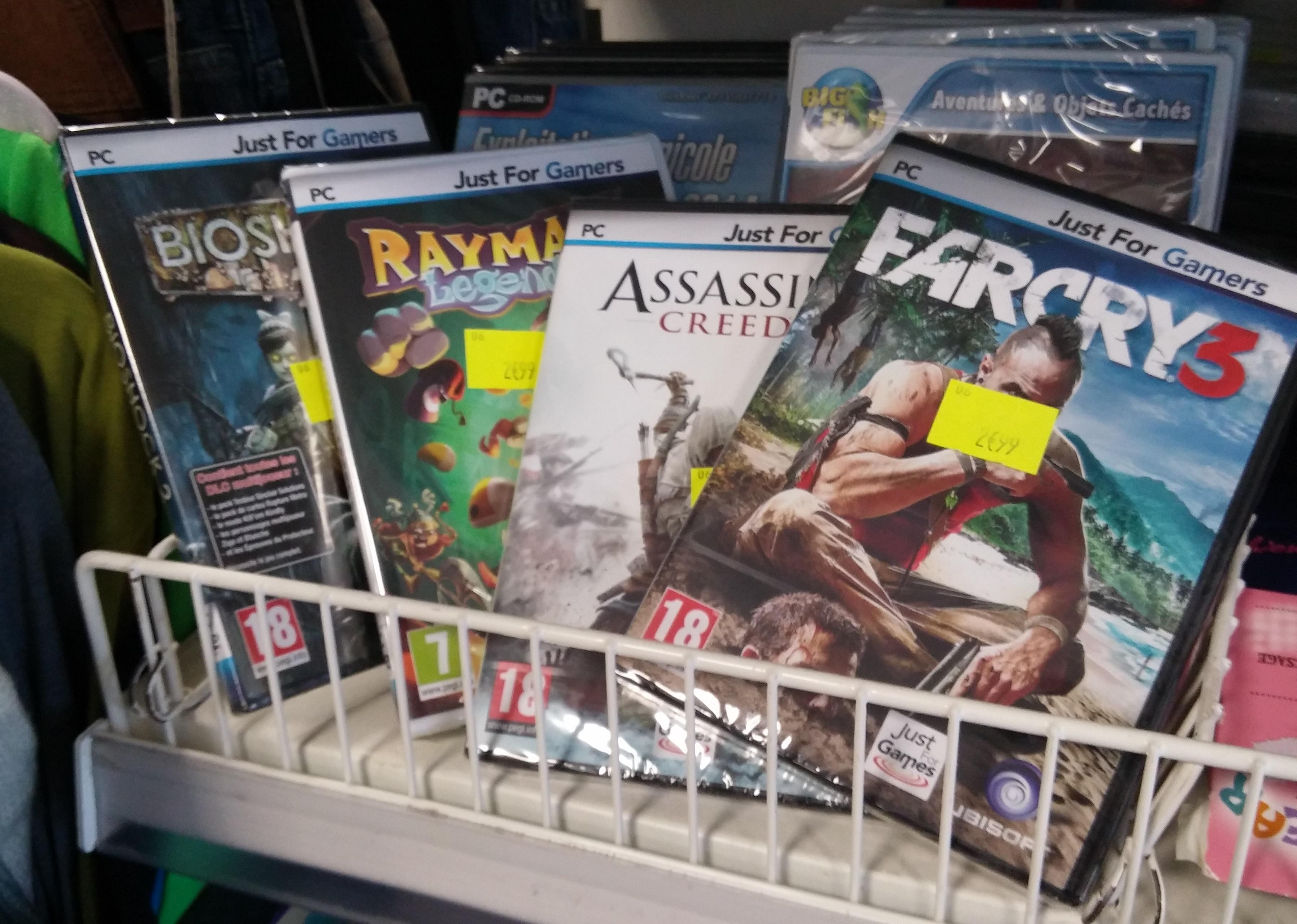 Sélection de jeux PC en promotion - Ex : Far Cry 3 ou Civilazation IV