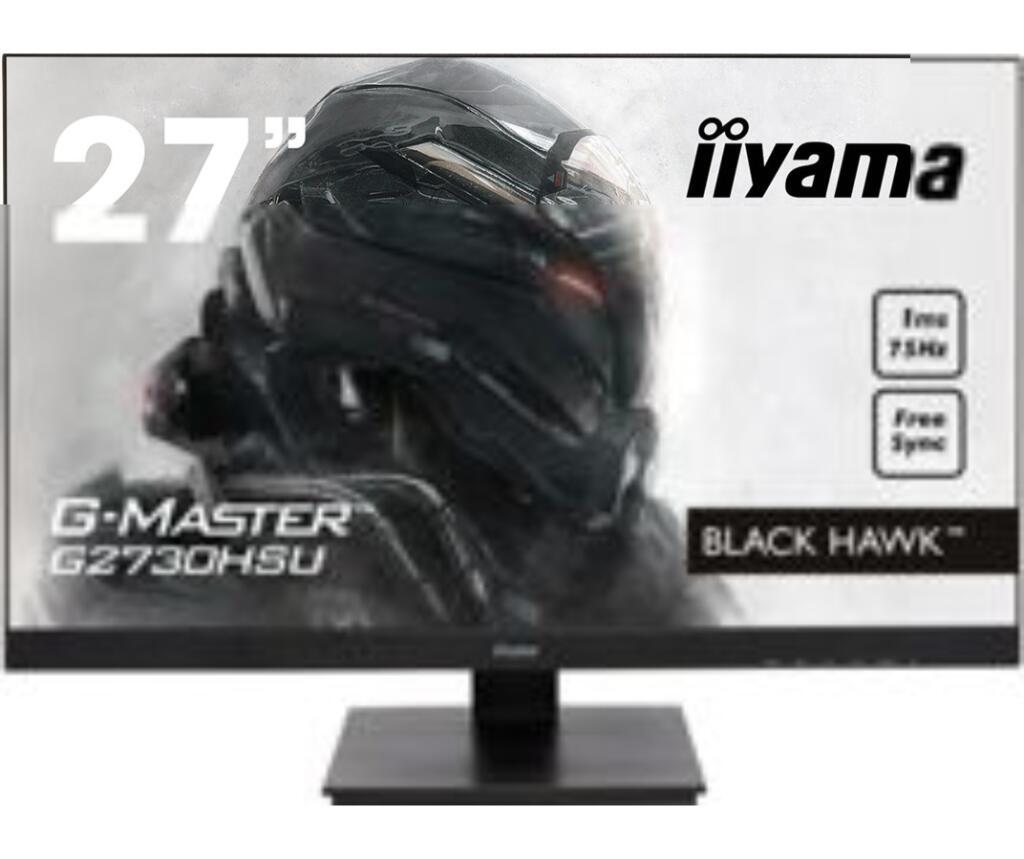 "Écran LED PC 27"" Iiyama G-Master Black Hawk G2730HSU-B1 - Full HD, 75Hz, 1ms"
