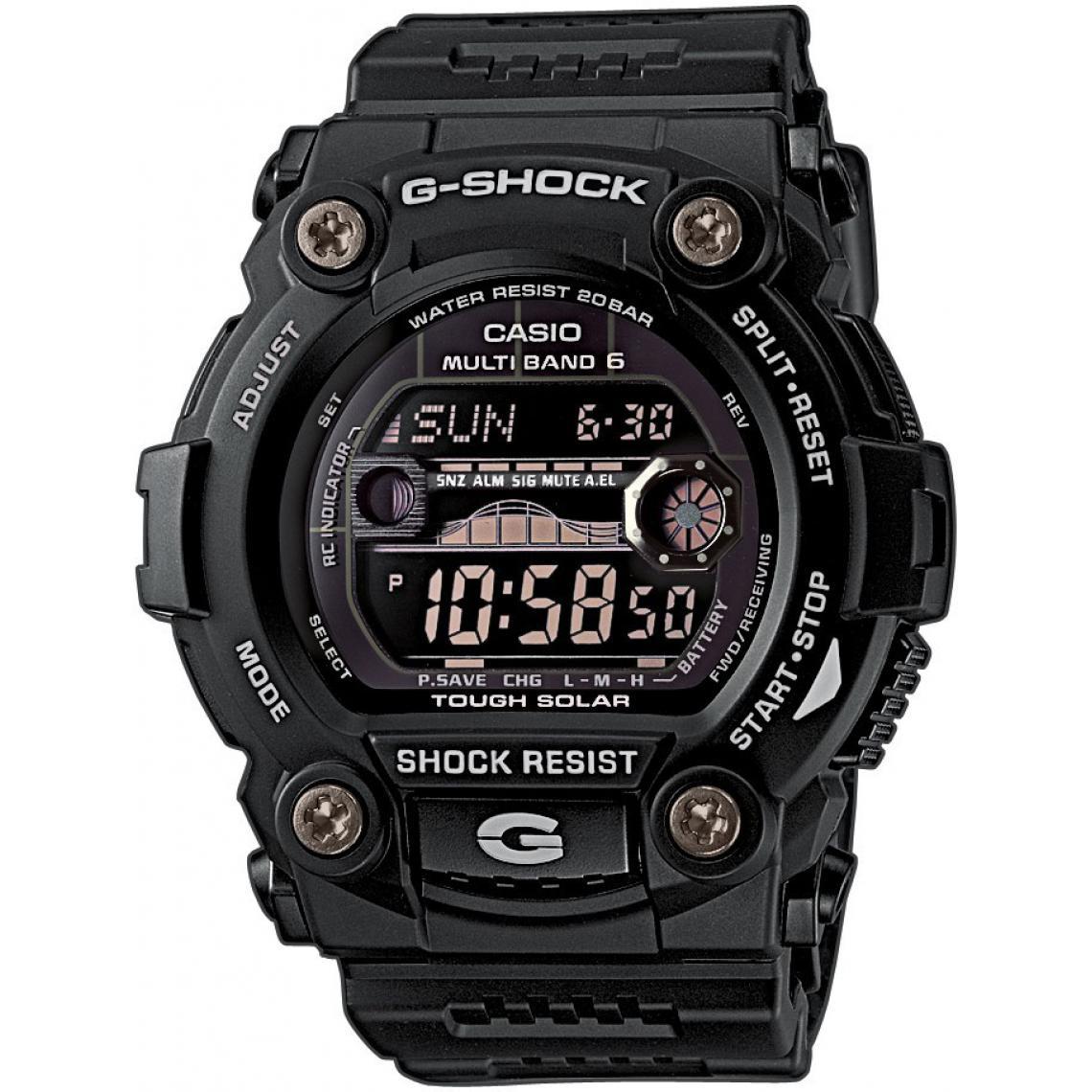 Montre Solaire Radio Pilotée Casio G-Shock GW-7900B-1ER 20ATM (mondialmontres.fr)