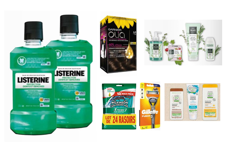 Sélection de produits en promotion - Ex : 2 bains de bouche Listerine (2x500 ml)
