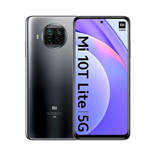 """Smartphone 6.67"""" Xiaomi Mi 10T Lite - full HD+ 120 Hz, SnapDragon 750G, 6 Go de RAM, 64 Go, 5G, 64 Mpix, différents coloris"""