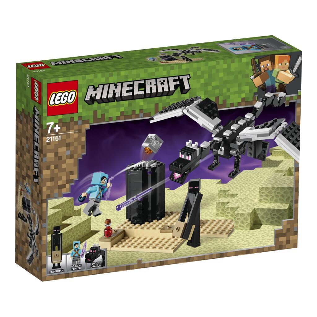 Jeu de construction Lego Minecraft : La Bataille de L'End n°21151 - Luçon (85)