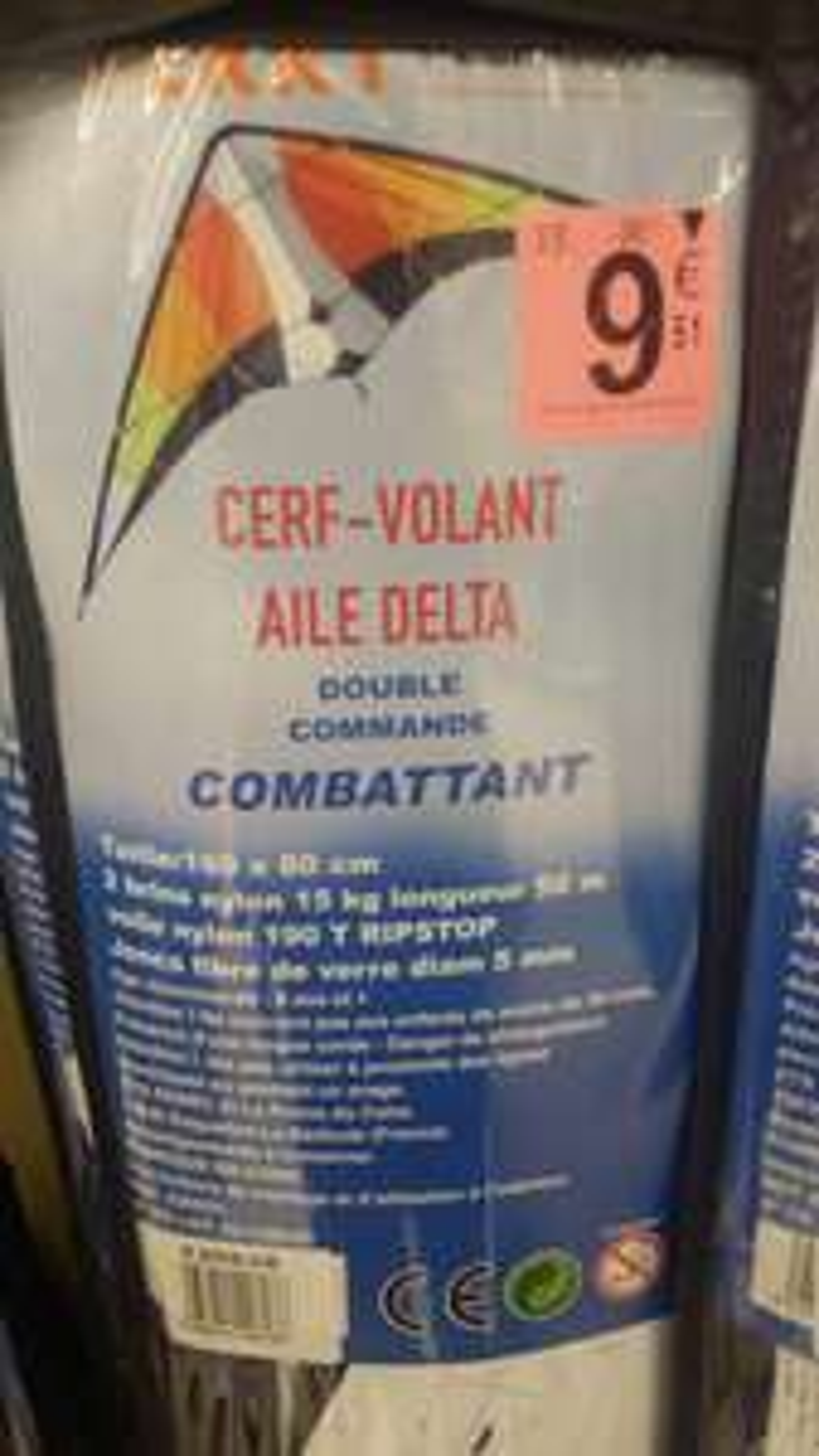 cerf volant aile Delta