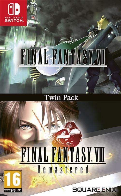 [Adhérents / Précommande] Double Pack Final Fantasy VII & Final Fantasy VIII Remastered sur Switch (+10€ sur le compte fidélité)