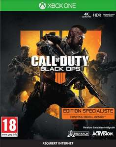 Call Of Duty Black Ops IIII Specialist Edition sur Xbox One