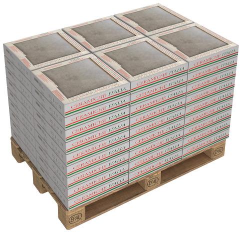 Carrelage de sol intérieur Oxo - Grès cérame émaillé, 42,3 x 42,3 cm, le m²