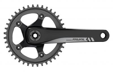Pédalier Rival1 GXP pour vélo de route - 50 Dents, Noir 172, 5 mm