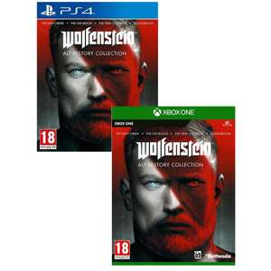Wolfenstein : Alt History Collection (The New Order, The Old Blood, The New Colossus & Youngblood) sur PS4 & Xbox One