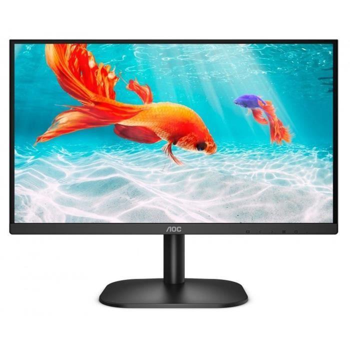 """Ecran 22"""" AOC 22B2H - Full HD, Dalle VA, 75 Hz, 8 ms, compatible VESA"""