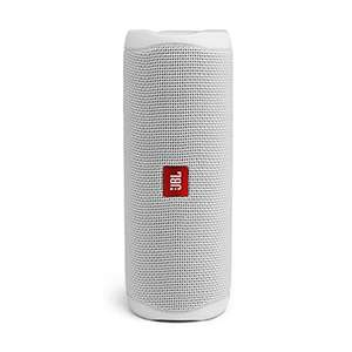 Enceinte Bluetooth sans fil JBL Flip 5 - Blanc