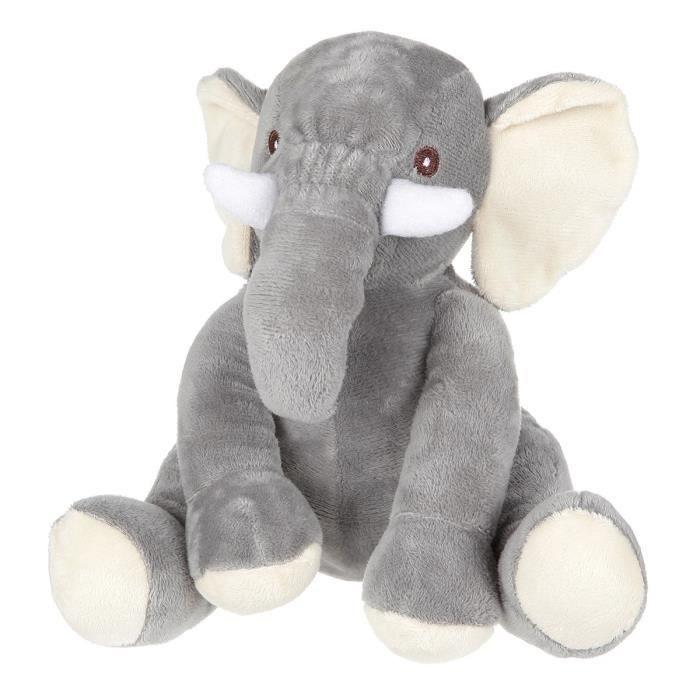 Peluche Elephant - 21 cm (Existe d'autres modèles)