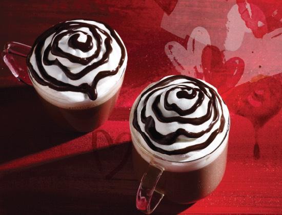 2 triple Hot Chocolate pour le prix d'un soit les 2