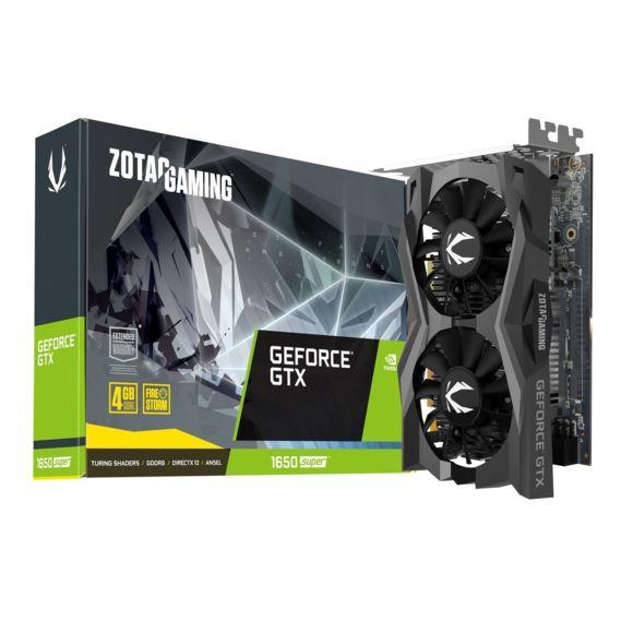 Carte Graphique Zotac GeForce GTX 1650 Super Twin Fan - 4 Go