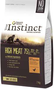 Croquettes pour chat True Instinct High Meat - Adulte 7kg