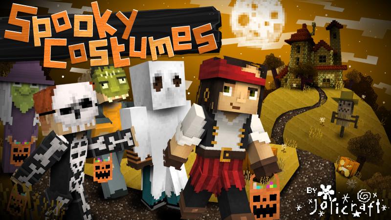 Objets & Skins d'Halloween Gratuits sur Minecraft (Dématérialisés)