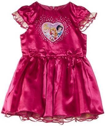 Déguisement Disney Princesse - Tailles 3 et 5 ans, couleur framboise