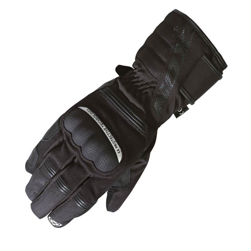 Gants tissu de moto Ixon Pro Tenere - Hiver, Paume renforcée cuir / suède, Doublure thermique (taille au choix)