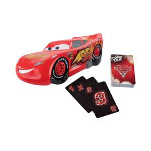 Jeu de Société Mattel Cars 3 Plein Gaz