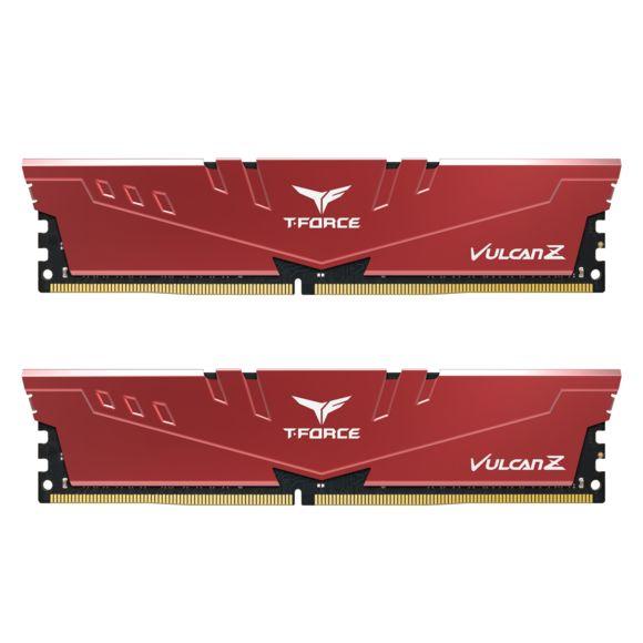 Kit mémoire RAM T-Force Vulcan Z 16 Go (2 x 8 Go) - DDR4, 3600 MHz, CL18