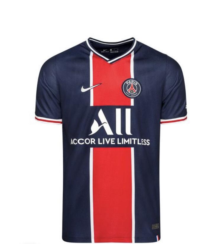 Maillot Domicile PSG 2020/21 - Tailles au choix